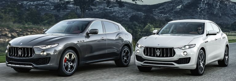 2017 Maserati Levante SUVs driving