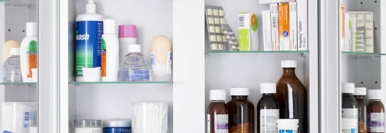 An open medicine cabinet. Consumer Reports identifies our 10 top health and drug stories of 2015.