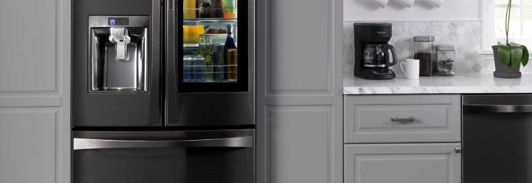 Black stainless is a 2017 home improvement trend.