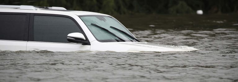 Flooded-out car that needs an insurance claim
