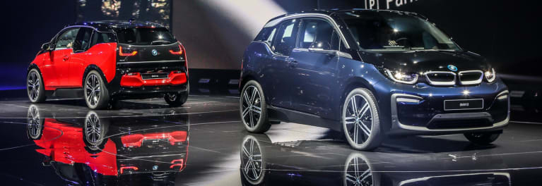 The BMW i3 electric car