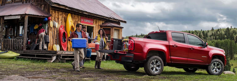 Chevrolet Colorado pickup truck