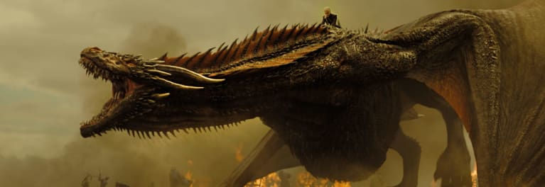 Pirated Game of Thrones episodes make this dragons angry
