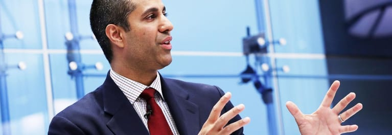 FCC chairman Agit Pai will lead vote on net neutrality rollback