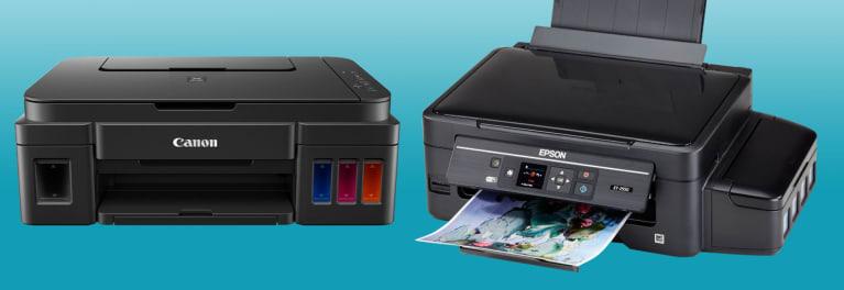 Canon MegaTank & Epson EcoTank Supertank Printers - Consumer
