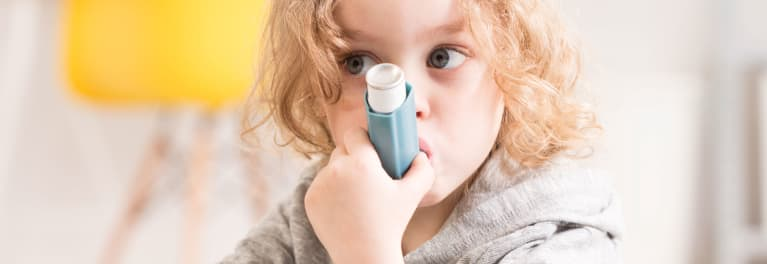 Microbes can affect asthma risk.