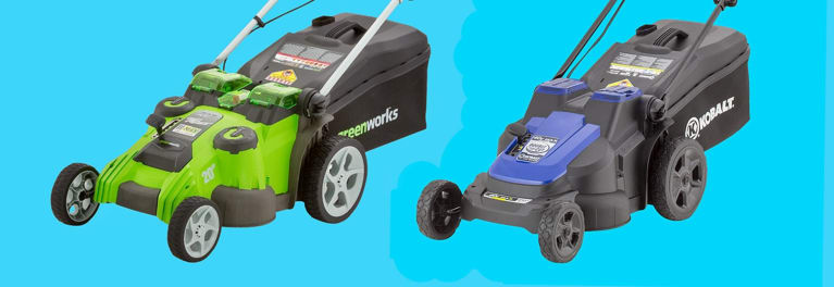 Greenworks and Kobalt Electric Push Mowers Recalled