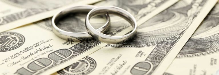 Financial benefits of marriage.