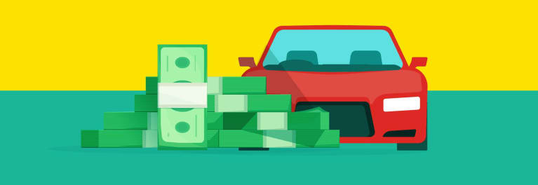 A long-term car loan