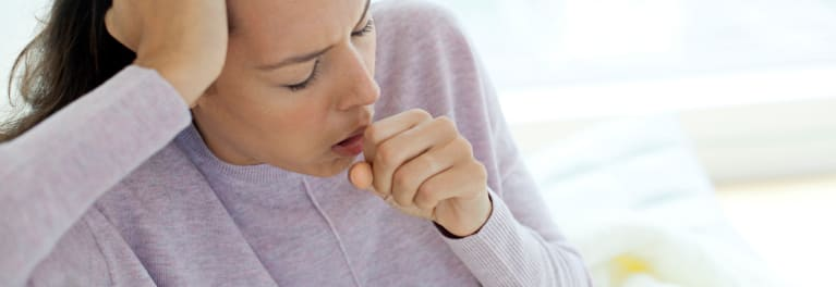 Photo of a person with a persistent cough