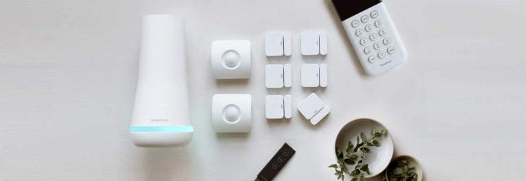 SimpliSafe DIY home security system.