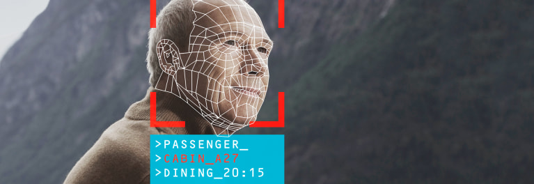 Facial recognition is widely used by cruise lines.
