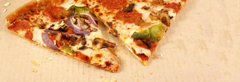 How to reheat leftovers like pizza.