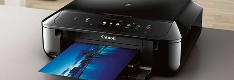 the Canon Pixma MG6820 for a story on the best printers for families with school children.
