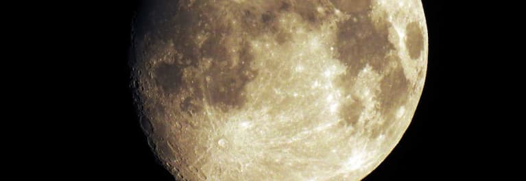 This is a photo of the moon for a story on how to photograph the supermoon..