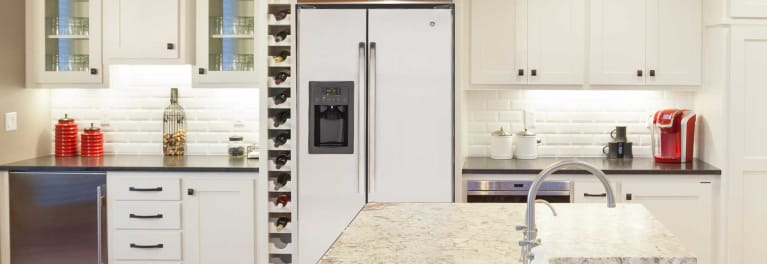 GE side-by-side refrigerator a top performer