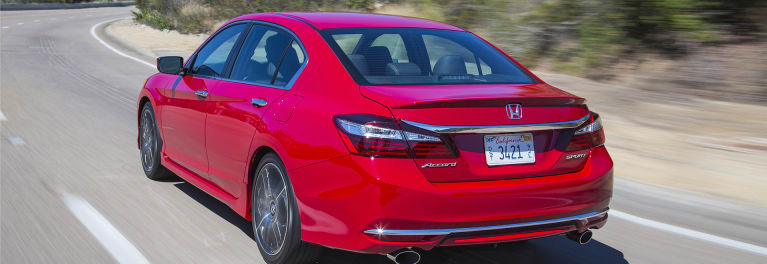 2016 Honda Accord driving