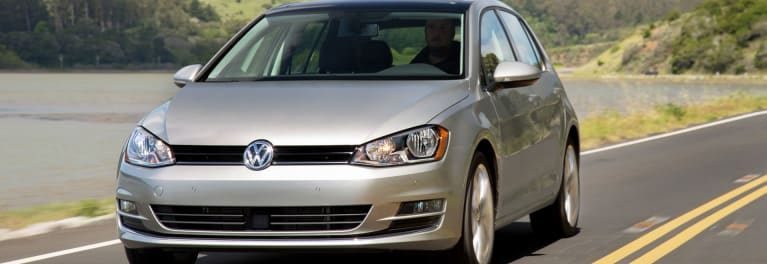 An image of the Volkswagen Golf TDI sedan.