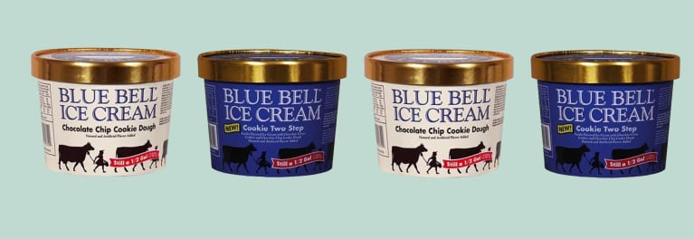 Blue Bell cookie dough ice cream