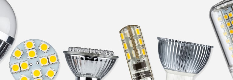 Inside LED lightbulbs.