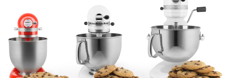 KitchenAid mixers for smaller kitchens.