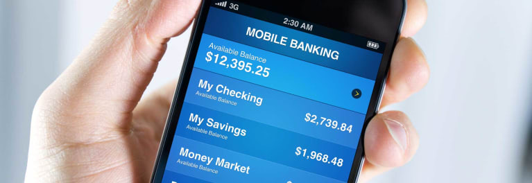 A mobile banking app can help you avoid a trip to a physical bank branch.