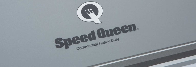 A Speed Queen washer.