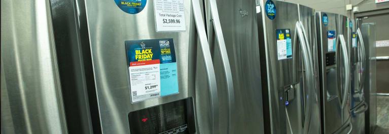 best black friday refrigerator deals of 2017 consumer reports. Black Bedroom Furniture Sets. Home Design Ideas