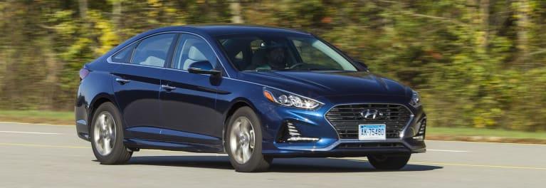 2018 Hyundai Sonata Driving
