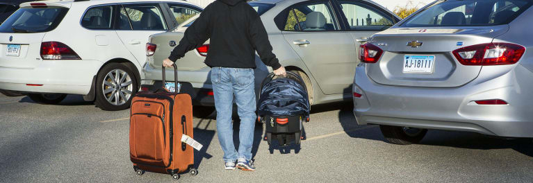 Traveling with kids and car seats