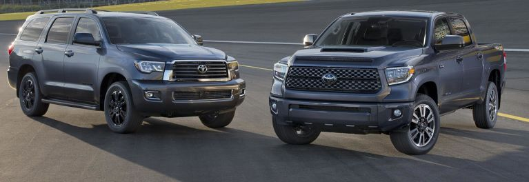 2018 Toyota Tundra and Sequoia