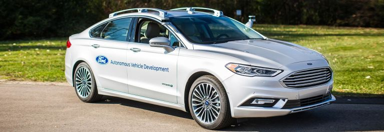 Self Driving Ford Fusion