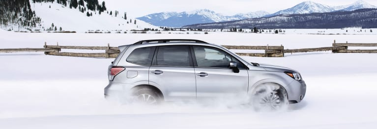 Best AWD cars include the Subaru Forester.