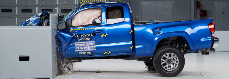 Iihs Crash Test Toyota Tacoma