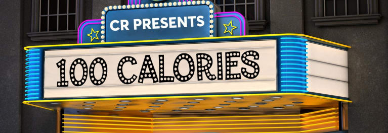 Find out what 100 calories of movie theater candy looks like.