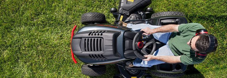 Riding lawn mower sales.