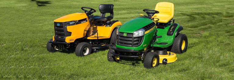 Cub Cadet Vs John Deere Lawn Tractor Face Off Consumer