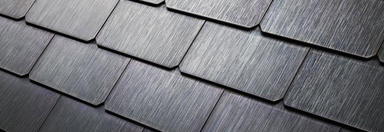 Solar roof shingles