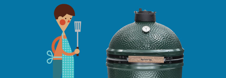 Yep, that's the Big Green Egg.