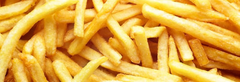 French fries made in a Philips Airfryer.