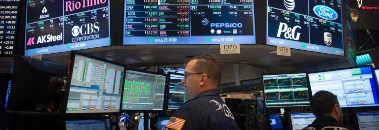 Stock market gains were in double digits in early 2017