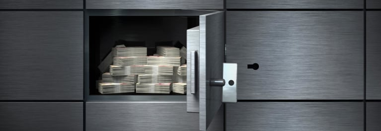 Cash in a vault after the Equifax breach