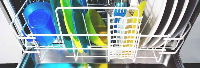 Dishes in a dishwasher, never put tools in dishwasher.