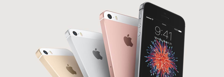 Photo of the Apple iPhone SE, one of Low-Priced Smartphones With High-End Features