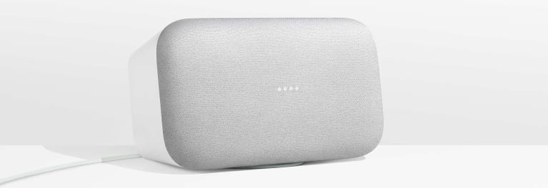 Google Home Max, which can be used as a multiroom speaker.