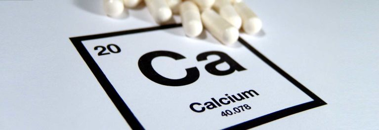 Calcium and vitamin D are touted to help build bone.