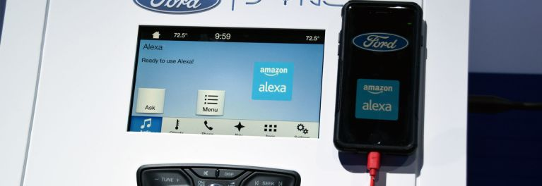 Amazon's Alexa Voice Service in Ford Sync 3 System