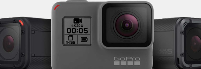 New GoPro action cams are Hero 5 Black and Hero 5 Session