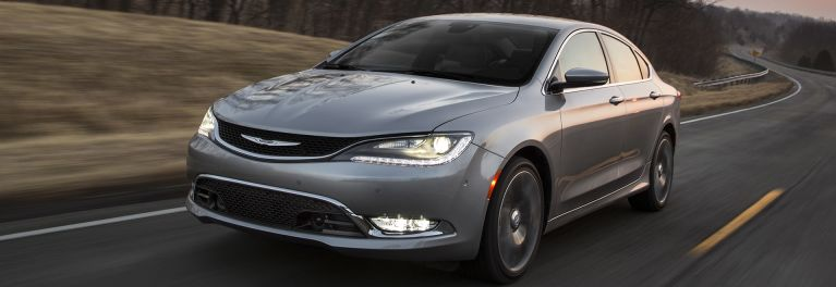 Chrysler 200 Sedan A 2016 Iihs Top Safety Pick
