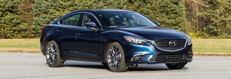 2017 Mazda6 Sedan Front